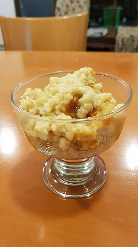 מתכון דייסת אורז בננה וקרמל